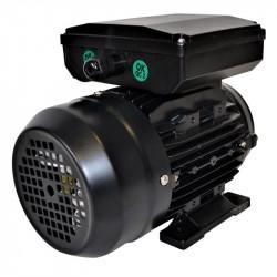 Moteur électrique monophasé 3kw - 3000tr/min - 230v - B34 - double condensateur