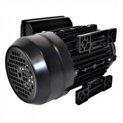 Moteur électrique monophasé à double condensateur 0.12KW - 230V - 1500tr/min - Fixation pattes et bride B34