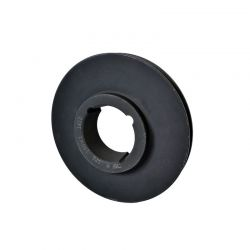 Poulie Fonte Z/SPZ - 1 Gorge - Diamètre 106mm - Diamètre extérieur 110mm - Moyeu amovible 1610
