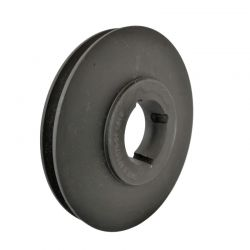 Poulie 1 Gorge - Diamètre 125mm - Pour Courroie A / SPA / XPA - Moyeu 1610