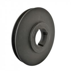 Poulie 1 Gorge - Diamètre 90mm - Pour Courroie A / SPA / XPA - Moyeu 1210