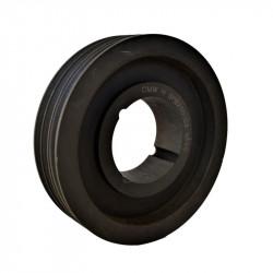 Poulie trapézoïdale B, SPB, XPB - diamètre 200mm - 3 Gorges - moyeu amovible 2517