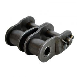 Maillon coudé pour chaîne double ASA 35A2 - Pas de 9.52mm