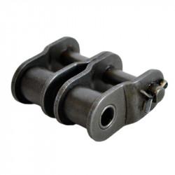 Maillon coudé pour chaîne double ASA 80A2 - Pas de 25.4mm
