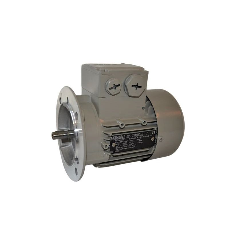 Moteur électrique triphasé 7.5kw - 3000tr/min - B5 - IE2 - Siemens