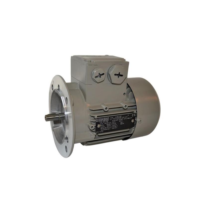 Moteur électrique triphasé 1.1Kw - 1500Tr/min - B5 – IE2 - Siemens