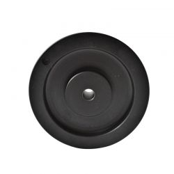 Poulie trapézoïdale SPZ diamètre 160 - 1 gorge - Aléser - Fonte