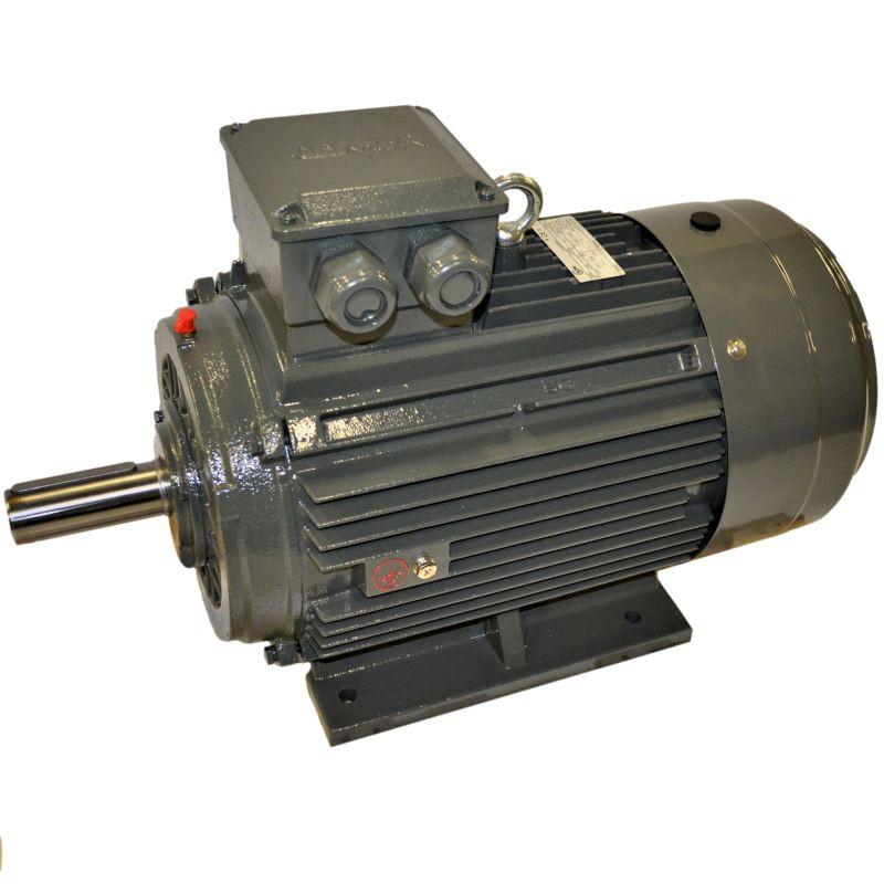 MOTEUR ÉLECTRIQUE TRIPHASÉ 11 KW - 1500 T/MIN - PATTES B3 - 400/690V - IE3