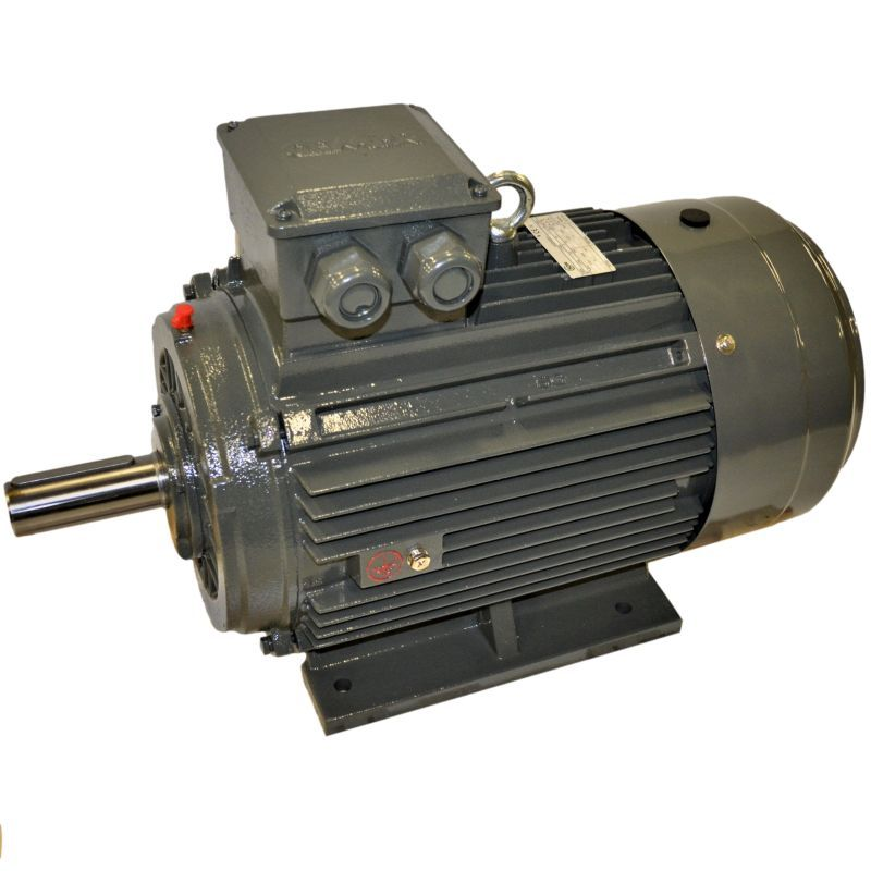 Moteur électrique triphasé 132Kw - 1500Tr/min - Pattes B3 - 400/690V - IE3
