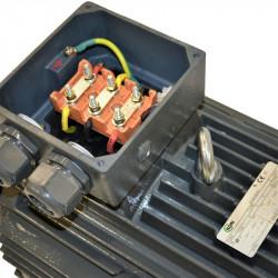 Moteur électrique triphasé 90 kw - 1500 Tr/min - pattes B3 - 400/690V - IE3