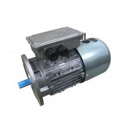 Moteur électrique frein 0.12 kw 1000 tr/min 63 IM B5 - 230/400V - Cemer