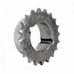 Pignon à moyeu amovible au pas de 9.52mm ISO 06B1 - 18 dents - Simple denture - Moyeu 1008