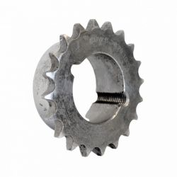 Pignon à moyeu amovible au pas de 9.52mm ISO 06B1 - 27 dents - Simple denture - Moyeu 1210