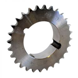 Pignon à moyeu amovible au pas de 12.7mm ISO 08B1 - 18 dents - Simple denture - Moyeu 1210