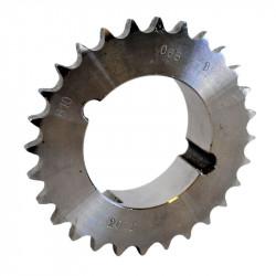 Pignon à moyeu amovible au pas de 12.7mm ISO 08B1 - 25 dents - Simple denture - Moyeu 1610