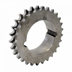Pignon à moyeu amovible 20 dents - Pas de 12.7mm ISO 08B2 - Double denture - Moyeu 1610