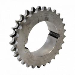 Pignon à moyeu amovible 28 dents - Pas de 12.7mm ISO 08B2 - Double denture - Moyeu 2012