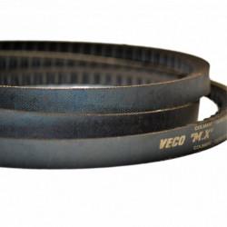 Courroie trapézoïdale crantée XPZ487 – Veco MX – 10x8mm – Colmant Cuvelier
